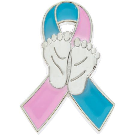 Infant Loss Awareness Ribbon Pins (Pkg of 12)