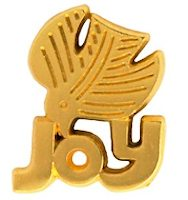 Joy Dove Jesus First Christmas Pin