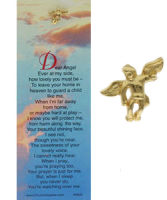 Angel on Shoulder Pin & Bookmark