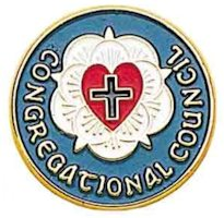 Lutheran Rose Congregationa Council Pins