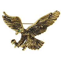 Flying Eagle Pins Antique Gold or Silver
