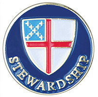 Episcopal Stewardship Lapel Pin