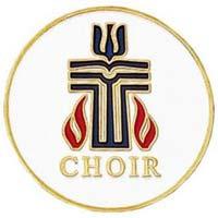 Gold Presbyterian Choir Pin