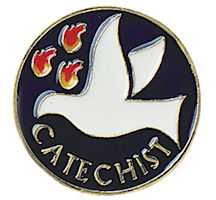 Catechrist Pin With Spirit Dove