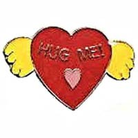 Hug Me Heart Lapel Pin