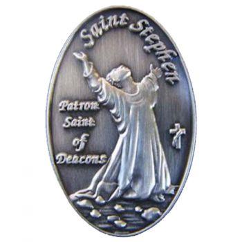 St. Stephen's Pin Patron Saint Deacons
