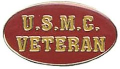 U.S.M.C. Veteran Pin