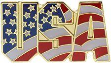 USA Stars and Stripes Lapel Pin