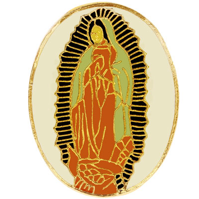 Lady of Guadalupe Pin