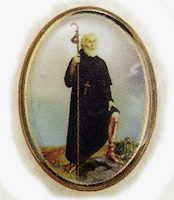 St Peregrine Lapel Pin