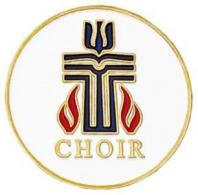 Gold Presbyterian Choir Pin