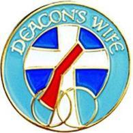 Deacon's Wife Lapel Pin