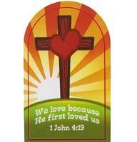 1 John 4:19 We Love - Pocket Cards (Pkg of 25)