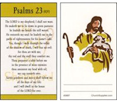 Lord Is My Shepherd Pocket Card (Pkg of 25)