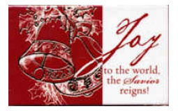 Joy To the World Christmas Pass-Around Cards (Pkg of 25)
