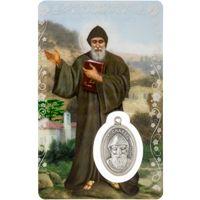 St Charbel Laminated Prayer Card