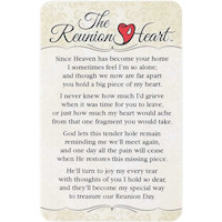 Reunion Heart, I'm Alone Without You Card