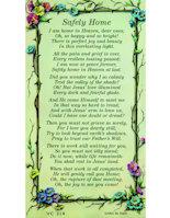 Safely Home Pocket Bereavement Card  (25)