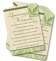 Amazing Woman - Laminated Pocket Cards