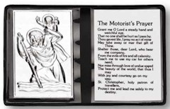 Motorist Prayer St. Michael Metal Pocket Card