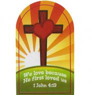 John 4:13 We Love Pocket Cards (Pkg of 25)