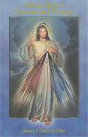Divine Mercy Novena and Prayers Laminated Booklet