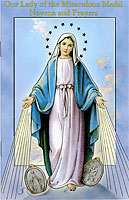 Our Lady of the Miraculous Medal Novena Prayers Booklet