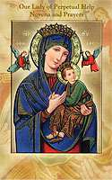 Our Lady of Perpetual Help Novena and Prayers Booklet