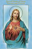 Sacred Heart of Jesus Novena, Prayers Booklet