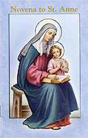 Novena to St. Anne Booklet Catholic