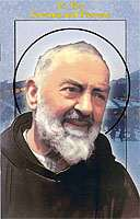 St. Pio Novena and Prayers Booklet