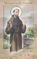 Novena to St. Francis Prayer Devotional Booklet