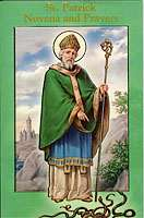 St. Patrick Novena and Prayers Booklet