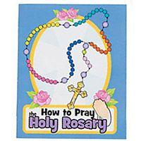 How to Pray Mini Rosary Booklet