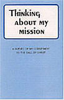 Think About My Mission Folder Pkg of 50's
