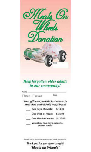 Meals On Wheels Tag Fund  Raising (100)