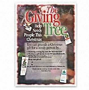 Giving Tree Sales Poster
