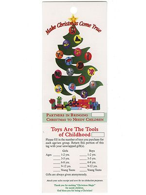 Christmas Giving Toy Tags (Pkg of 100)