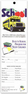 Back-To-School Giving Tags (Pkg of 100)