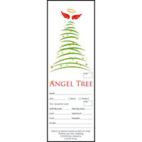 Christmas Tree Angel Tree Tags (Pkg of 100)
