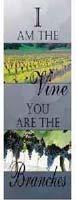 I Am The Vine Cloth Church Banner