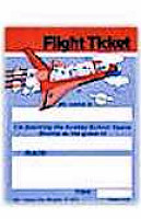Church Space Shuttle Invitation Flight Ticket