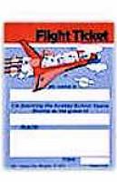 Church Space Shuttle Invitation Flight Ticket