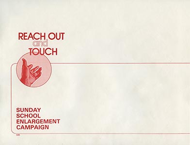 Reach Out and Touch 9x12 Envelopes