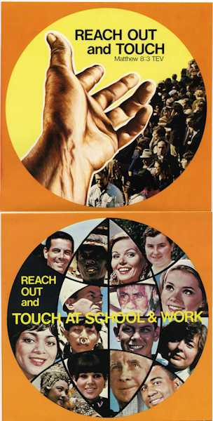 Reach Out & Touch Church Growth - Poster