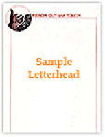 Reach Out and Touch Letterhead to kick off program