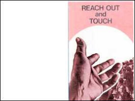 Reach Out & Touch Bulletin Cover (Pack of 100)