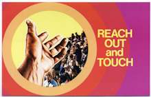 Reach Out and touch Postcards church growth