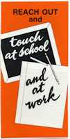 Reach Out at Work and School  leaflet