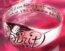 Spirit Angels Inspiring Ring Sterling Silver  Size 5